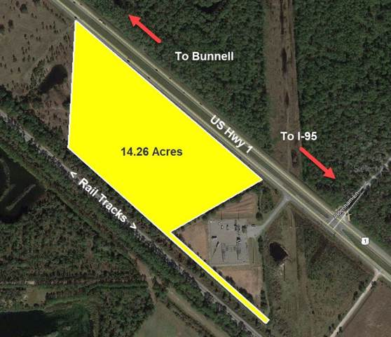 Us 1 Highway (14.26 AC), Bunnell, FL 32110 (MLS #V4911651) :: The Duncan Duo Team