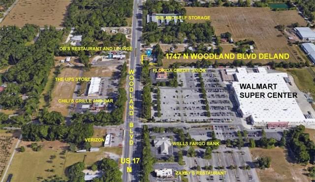 1747 N Woodland Boulevard, Deland, FL 32720 (MLS #V4915442) :: The Kardosh Team