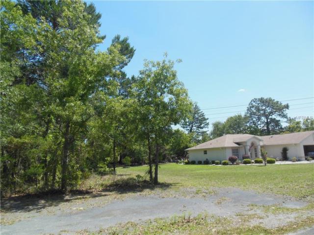 4125 Elwood (Lot 16) Road, Spring Hill, FL 34609 (MLS #W7800108) :: Team Pepka