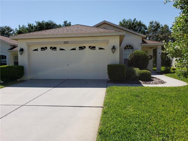 207 Center Oak Circle, Spring Hill, FL 34609 (MLS #W7800310) :: Dalton Wade Real Estate Group