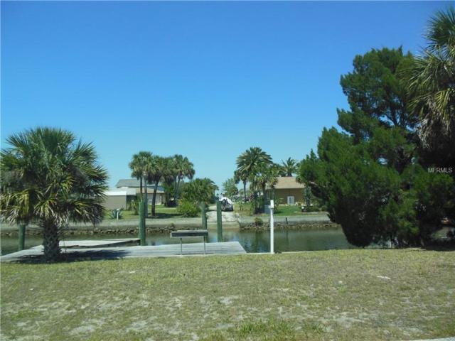 341 Yachtsman Lot 341 Drive, Hudson, FL 34667 (MLS #W7800336) :: Team Pepka