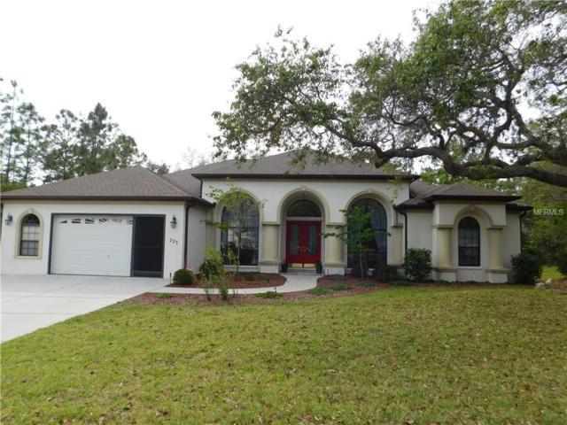 223 Linder Drive, Homosassa, FL 34446 (MLS #W7800997) :: The Lockhart Team