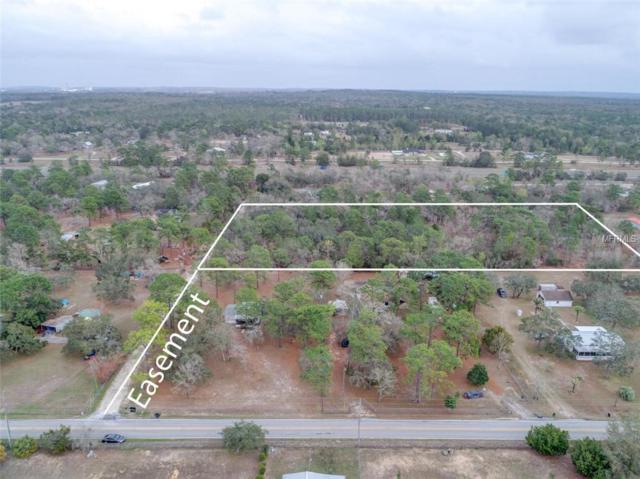 5 ACRES Grove Road, Brooksville, FL 34613 (MLS #W7803573) :: Griffin Group