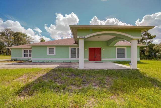 11520 Lomita Wren Road, Weeki Wachee, FL 34614 (MLS #W7804606) :: KELLER WILLIAMS CLASSIC VI