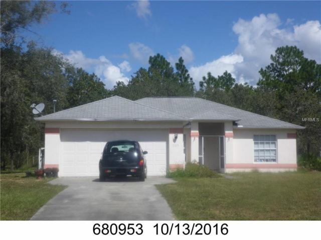 11119 Flock Avenue, Weeki Wachee, FL 34613 (MLS #W7805067) :: The Lockhart Team