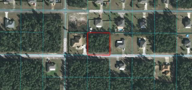 SW 111TH Place, Ocala, FL 34474 (MLS #W7806606) :: Zarghami Group