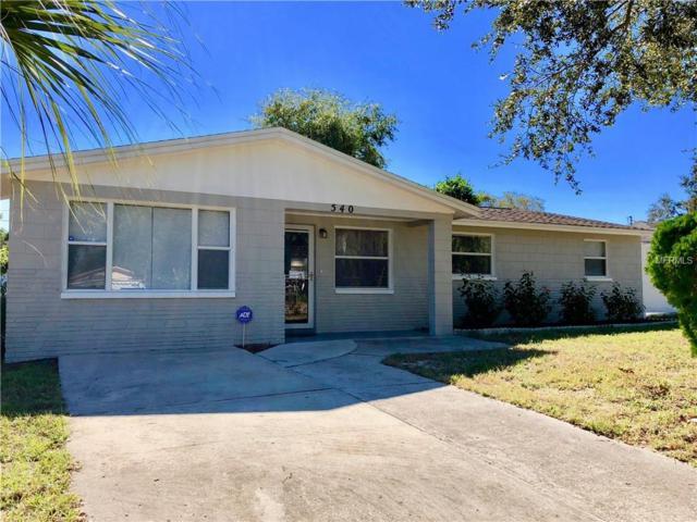 540 E Boyer Street, Tarpon Springs, FL 34689 (MLS #W7807008) :: Jeff Borham & Associates at Keller Williams Realty