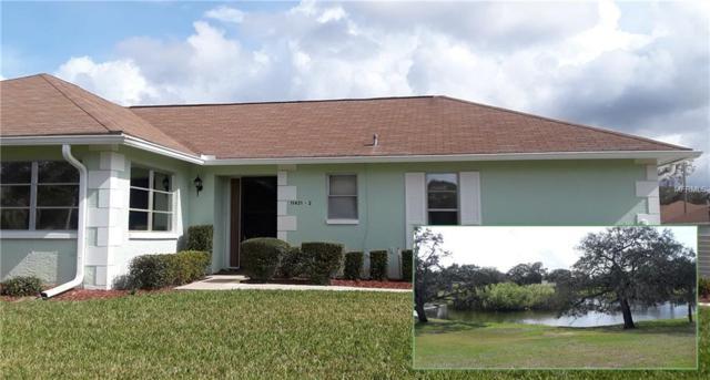 11431 Dollar Lake Drive #2, Port Richey, FL 34668 (MLS #W7809622) :: Team Virgadamo