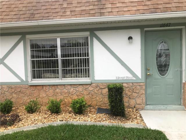 11647 Bayonet Lane 138B, New Port Richey, FL 34654 (MLS #W7810641) :: Team 54