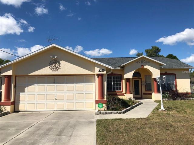 2339 Renton Lane, Spring Hill, FL 34609 (MLS #W7810793) :: Dalton Wade Real Estate Group