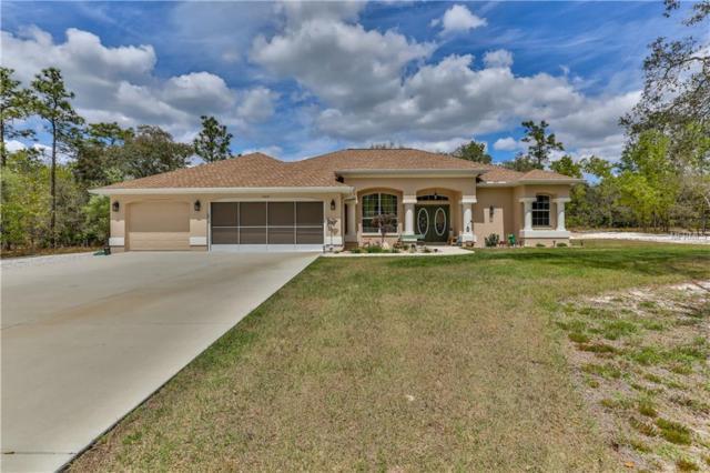 10031 Yellowthroat Avenue, Weeki Wachee, FL 34614 (MLS #W7811843) :: Delgado Home Team at Keller Williams