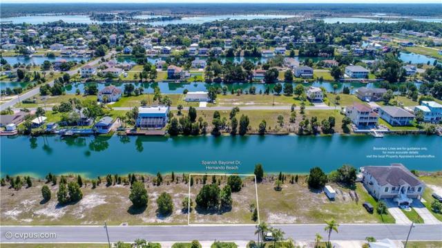 0 Spanish Bayonet Drive, Hernando Beach, FL 34607 (MLS #W7812623) :: The Duncan Duo Team
