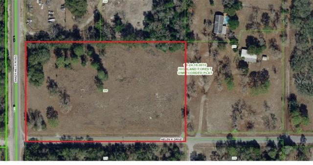 Hellen K Drive, Spring Hill, FL 34610 (MLS #W7812857) :: Jeff Borham & Associates at Keller Williams Realty