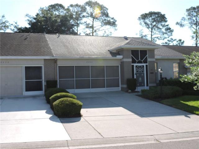 2443 Hidden Trail Drive, Spring Hill, FL 34606 (MLS #W7812921) :: Dalton Wade Real Estate Group