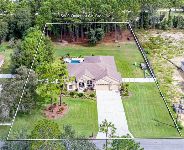 15800 Oakcrest Circle, Brooksville, FL 34604 (MLS #W7826675) :: Team Borham at Keller Williams Realty