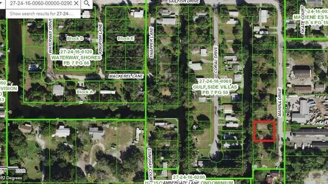 Lots 28 & 29 Marina Street, Hudson, FL 34667 (MLS #W7828825) :: Young Real Estate