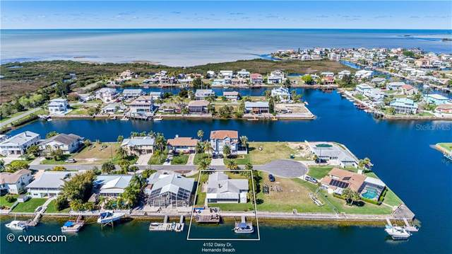 4152 Daisy Drive, Hernando Beach, FL 34607 (MLS #W7831526) :: Pepine Realty