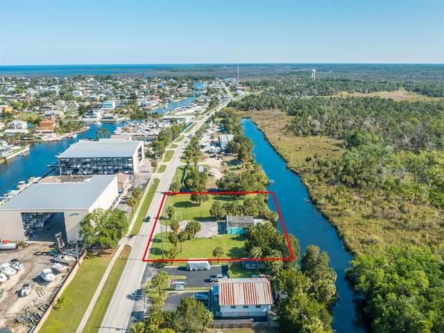 4108 Shoal Line Boulevard, Hernando Beach, FL 34607 (MLS #W7833382) :: Lockhart & Walseth Team, Realtors