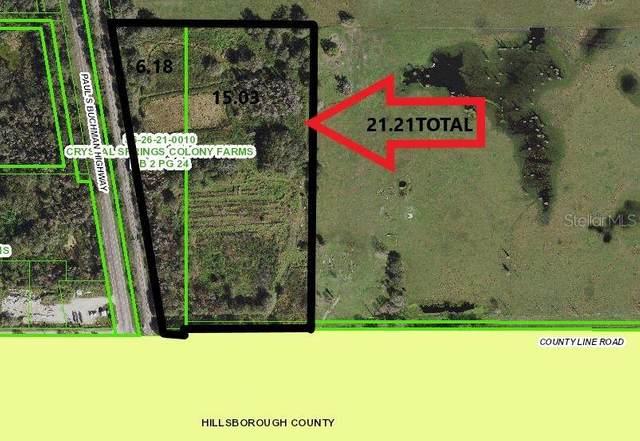 40053 County Line Road, Zephyrhills, FL 33540 (MLS #W7835139) :: Globalwide Realty