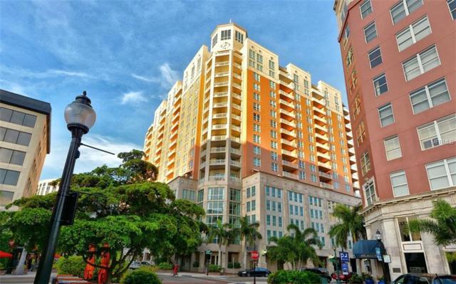 1350 Main Street #1208, Sarasota, FL 34236 (MLS #A4200996) :: Medway Realty