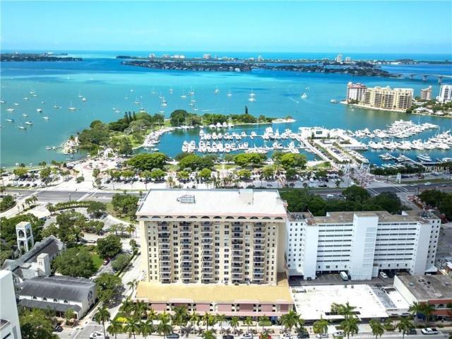 101 S Gulfstream Avenue 16G, Sarasota, FL 34236 (MLS #A4205772) :: Medway Realty