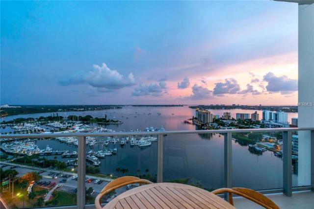 1155 N Gulfstream Avenue #1706, Sarasota, FL 34236 (MLS #A4411015) :: The Duncan Duo Team