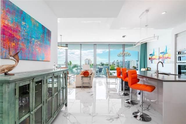 1155 N Gulfstream Avenue #303, Sarasota, FL 34236 (MLS #A4455211) :: Burwell Real Estate