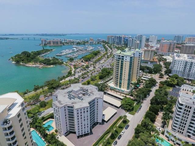 435 S Gulfstream Avenue #1103, Sarasota, FL 34236 (MLS #A4468057) :: Sarasota Home Specialists