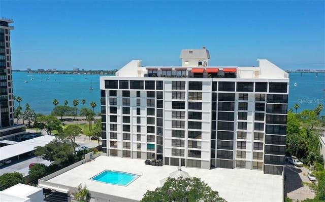707 S Gulfstream Avenue #904, Sarasota, FL 34236 (MLS #A4477864) :: Alpha Equity Team