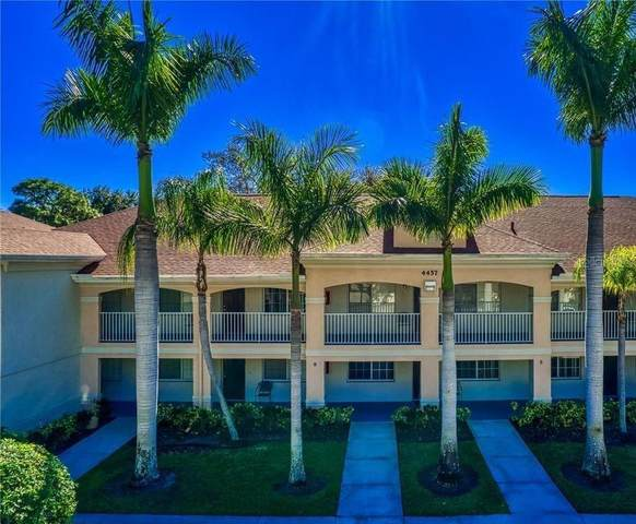 4457 45TH Avenue W #108, Bradenton, FL 34210 (MLS #A4480416) :: Sarasota Property Group at NextHome Excellence