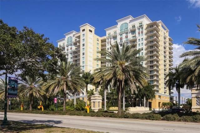 800 N Tamiami Trail #509, Sarasota, FL 34236 (MLS #A4481337) :: Griffin Group