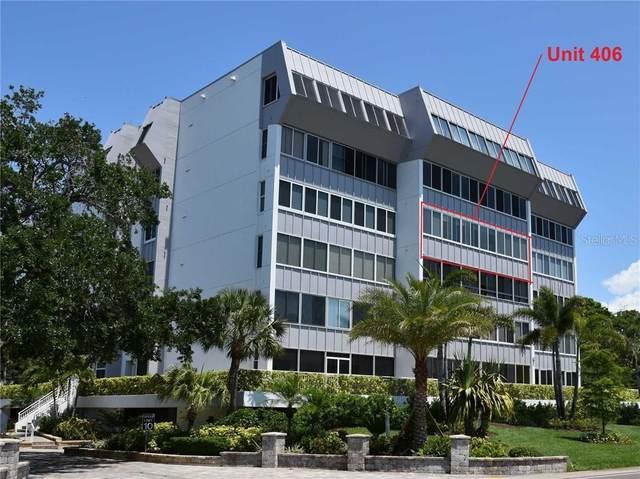 1200 E Peppertree Lane #406, Sarasota, FL 34242 (MLS #A4485042) :: Keller Williams on the Water/Sarasota