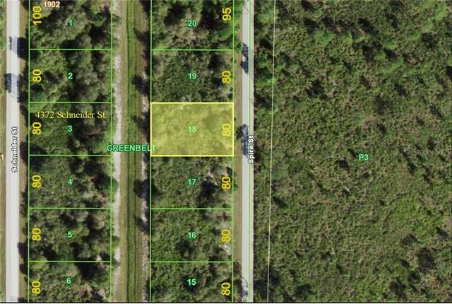 4389 Spire Street, Port Charlotte, FL 33981 (MLS #A4492952) :: The Nathan Bangs Group