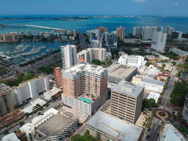 1350 Main Street #504, Sarasota, FL 34236 (MLS #A4496617) :: Medway Realty