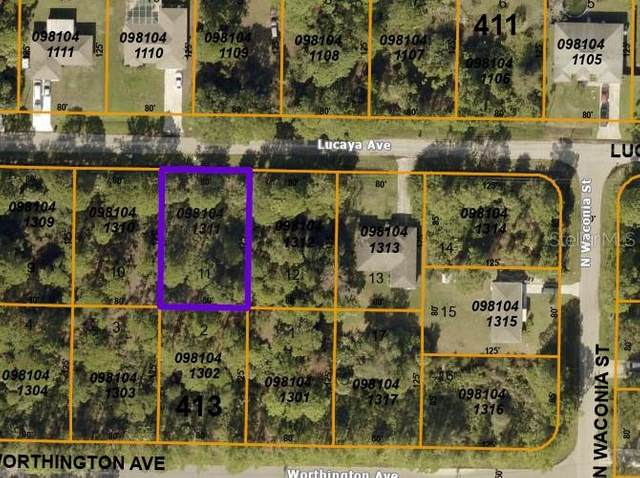 Lucaya Avenue, North Port, FL 34286 (MLS #A4496906) :: The Heidi Schrock Team