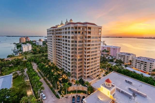 35 Watergate Drive #1701, Sarasota, FL 34236 (MLS #A4500204) :: The Kardosh Team