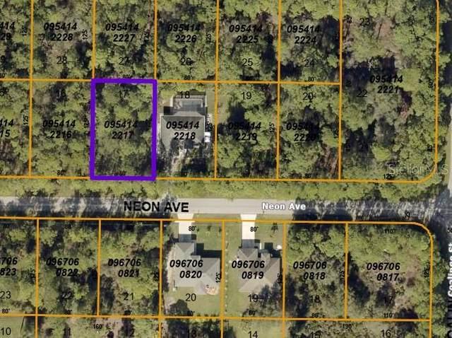 Neon Avenue, North Port, FL 34291 (MLS #A4500240) :: Armel Real Estate