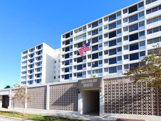 33 S Gulfstream Avenue #503, Sarasota, FL 34236 (MLS #A4502986) :: The Kardosh Team