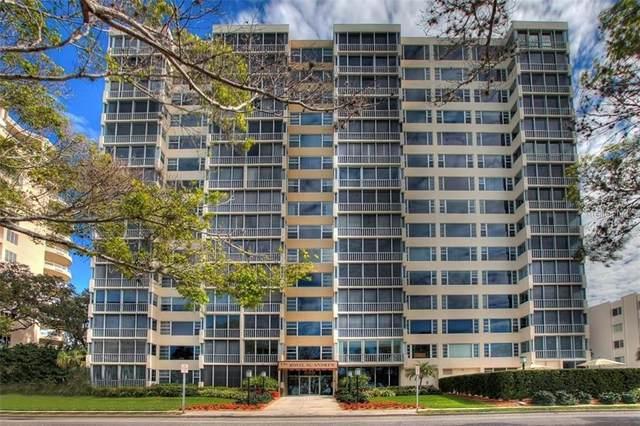555 S Gulfstream Avenue #301, Sarasota, FL 34236 (MLS #A4504463) :: GO Realty