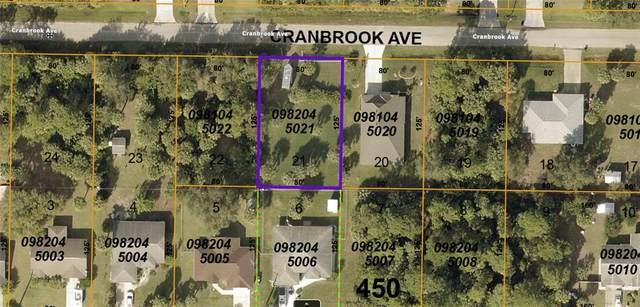 0 Cranbrook Avenue, North Port, FL 34286 (MLS #A4504826) :: Bob Paulson with Vylla Home