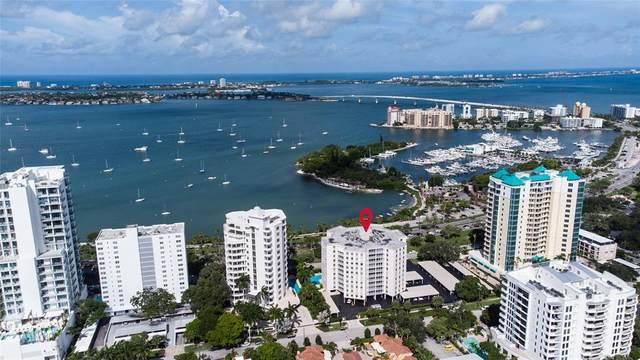 435 S Gulfstream Avenue #1105, Sarasota, FL 34236 (MLS #A4506914) :: CGY Realty