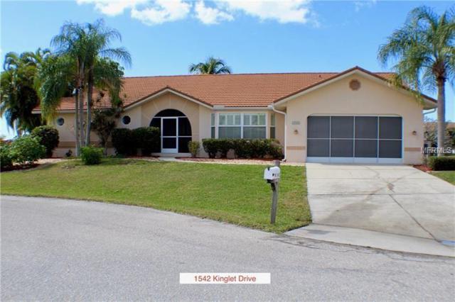 1542 Kinglet Drive, Punta Gorda, FL 33950 (MLS #C7249630) :: Premium Properties Real Estate Services