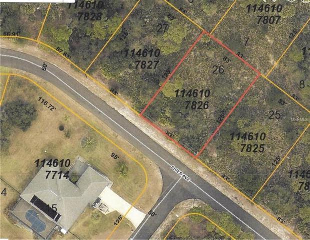 Fries Avenue, North Port, FL 34288 (MLS #C7402883) :: Godwin Realty Group