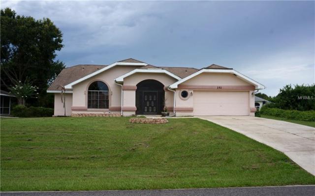 252 Macarthur Drive, Port Charlotte, FL 33954 (MLS #C7403284) :: Griffin Group