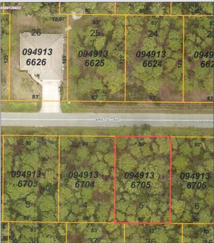 8517 Bristol (Lot 5) Avenue, North Port, FL 34291 (MLS #C7403583) :: Griffin Group