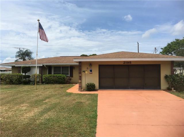 2195 Abscott Street, Port Charlotte, FL 33952 (MLS #C7414291) :: Delgado Home Team at Keller Williams