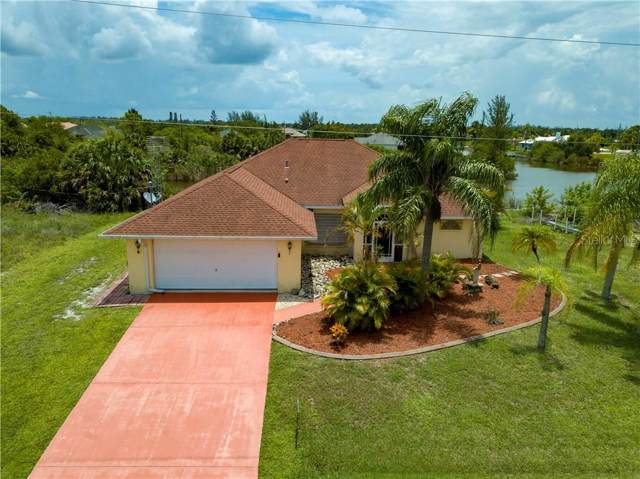 9418 Snapper Circle, Port Charlotte, FL 33981 (MLS #C7417674) :: The Edge Group at Keller Williams
