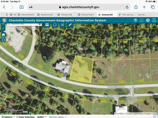 24526 Yacht Club Boulevard, Punta Gorda, FL 33955 (MLS #C7443082) :: Griffin Group