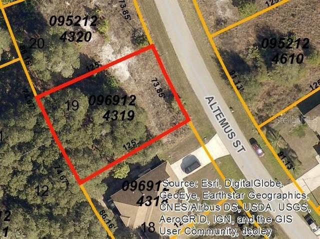 Altemus Street, North Port, FL 34291 (MLS #D5923197) :: Team Buky