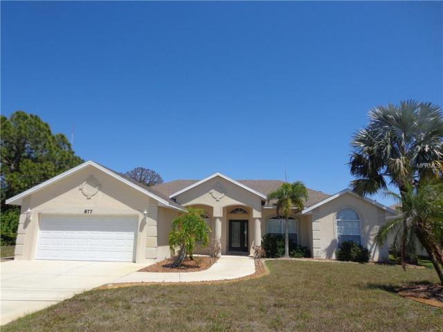 877 Boundary Boulevard, Rotonda West, FL 33947 (MLS #D6100013) :: Medway Realty